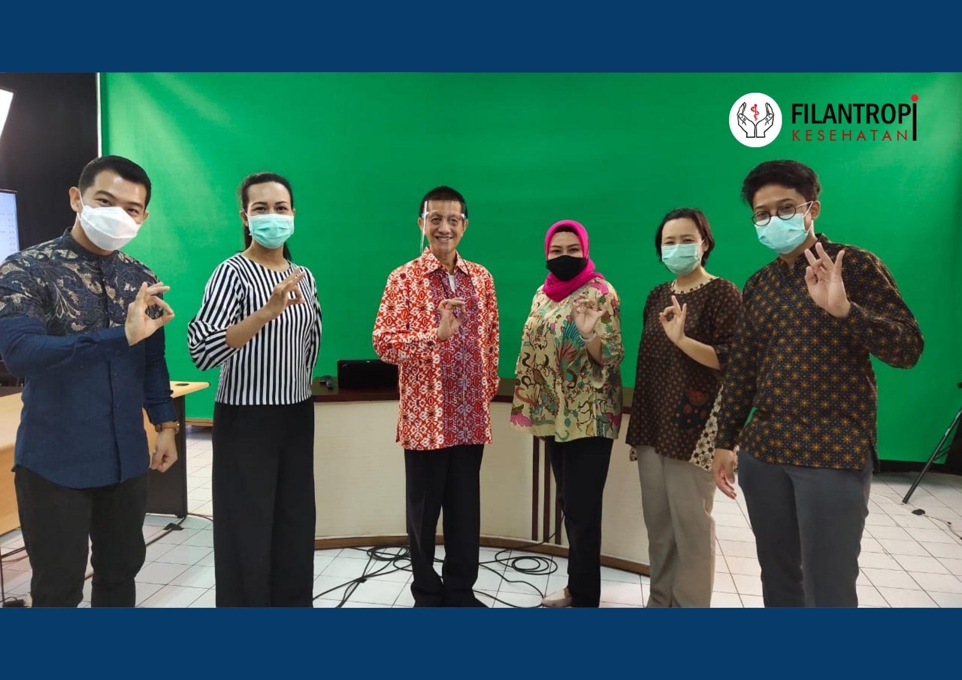 Reportase Talkshow Peranan Influencer dalam Filantropi Kesehatan