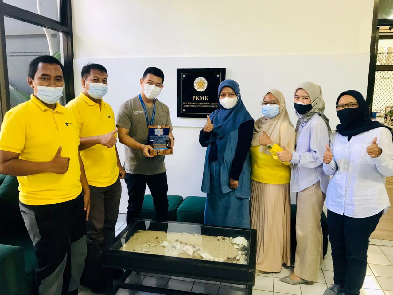 """Reportase  Aksi Sosial Melalui Program """"Komitmen Menebar Kebaikan"""":  Kunjungan Yayasan Diferensia (Bandung) ke RS Islam Yogyakarta PDHI"""